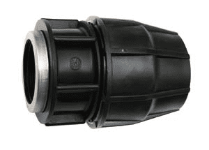 Medium Density Female Straight Coupling