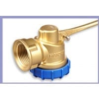 Hansen Superflo Piston Valve - Brass