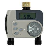 Orbit Dial Hose Tap Timer - 2 Outlet