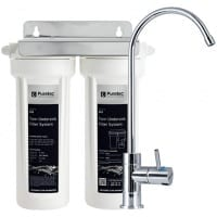 Puretec Undersink Water Filter System with High Loop LED Faucet