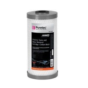 Puretec Carbon Block Cartridge, 10 Inch MP, 10 Micron