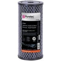 "Puretec Dual Purpose Carbon Cartridge, 10"" MP, 10 Micron"