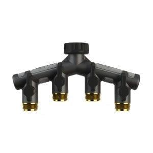 Orbit Pro Flo Four Way Metal Tap Adapter