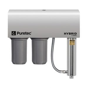 Puretec Filtration and Ultraviolet All in One Unit with Weather Cover, 10 inch