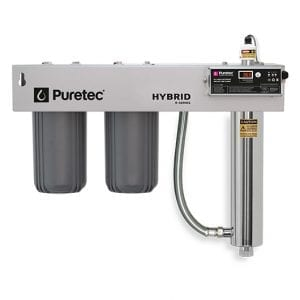 Puretec Filtration & UV all in one unit with Reversible Bracket
